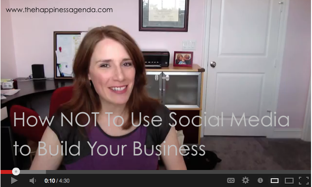 Screenshot - Social Media No-No's Video